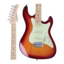 Guitarra Strinberg Strato STS100 CS Cherry Sunburst STS 100 Nova - Somos Loja