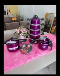 Kit cozinha completo 12 peças por $340 avista