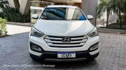 Impecável 2015 Hyundai Santa Fé 3.3 V6 4x4 Blindada