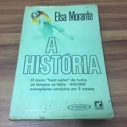 Livro A História - Elsa Morante