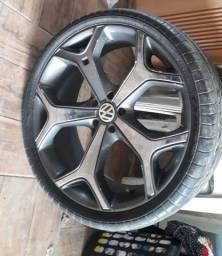 Vendo rodas com pneu Aro 19