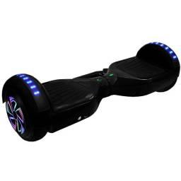 "Scooter Elétrico Interbras Smart Balance Wheel 6.5"" Bluetooth / Speaker / Bolsa - Preto"