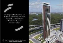 MD I Edf. Terrazza Apartamento 3 quartos 90m² I Rooftop 360° I Melhor vista de Boa Viagem
