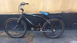 Bike aro 26, pouco tempo de uso, toda modificada