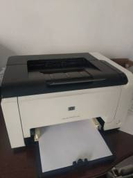 Impressora Hp a laser colorida cp 1025