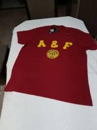 Camisa da Abercrombie & Fitch P, M, G e GG