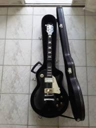 Guitarra Condor com captador da Gibson mais case
