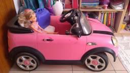 Carro elétrico infantil mini cooper