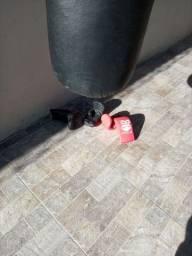 Vendo saco de box gorila novo