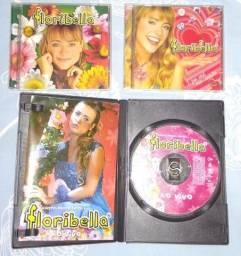 CDs e DVD da novela Floribella
