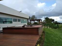 Casa de altissimo padrão mobiliada em gravata/cond da serra III/435M/luxo