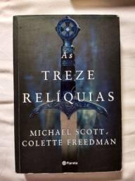 Livro as treze relíquias