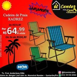 Título do anúncio: Cadeira de Praia Xadrez