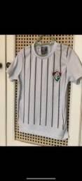 Camisas time futebol 3/4 anos