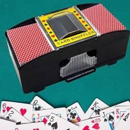 Embaralhador De Cartas Automático A Pilha Para 2 Baralhos