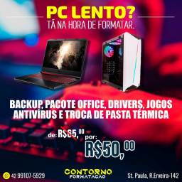 Formatação Notebook e PC