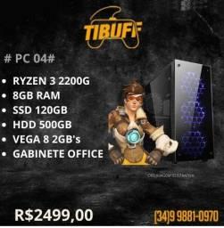 PC Gamer - Ryzen 3 2200g - 8GB - SSD