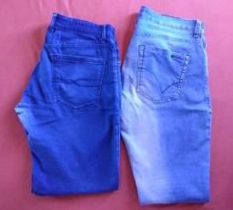 2 Calças Jeans Dudalina & John John Tam-44 (originais / usadas)