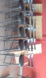 Banquetas Redondas 33cm #18 Novas