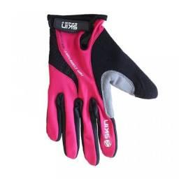 Luva Ciclismo Skin Sport Air Gel Rosa/Preto M