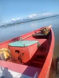Título do anúncio: Vendo bote com registro e documentos