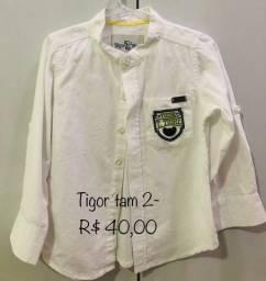 Camisas várias marcas e preços