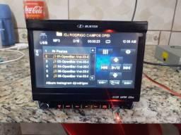 Dvd retratil h buster hbd-9540av