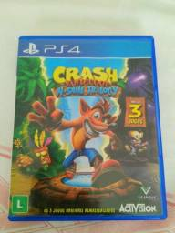 Jogo PS4 Crash N Sane Trilogy