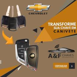CHAVE CANIVETE CHEVROLET