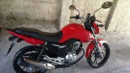 CG Fan 160. Moto novíssima 20/20. 5 mil rodados