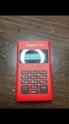 Título do anúncio: Maquininha de cartão GetNet D150 usada 1 vez Santader SuperGet não precisa ter conta