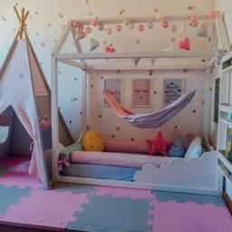 Tatame de alta qualidade uma ótima opção para por no quarto de seu bebe