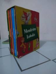 Caixa Monteiro Lobato Infantil coleção