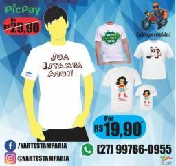 Camiseta Personalizada - Promoção!