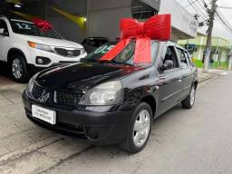 CLIO 2004/2005 1.0 AUTHENTIQUE SEDAN 16V GASOLINA 4P MANUAL