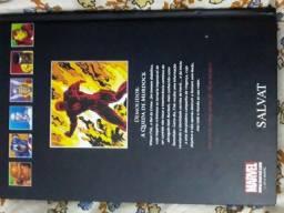 Coleção graphic novels Demolidor A queda de mudock