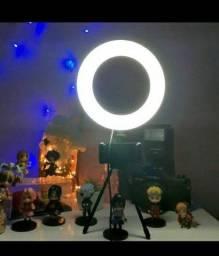 (ENTREGO) PROMOÇÃO Ring light com tripé +suporte para celular