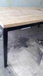 Mesa metalon- móveis planejados