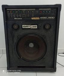Caixa amplificador wattson