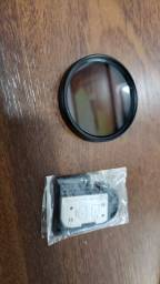 Filtro Polarizador + Tampa de bateria 5d mk2
