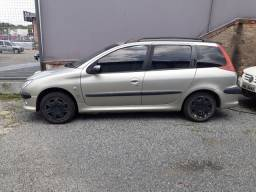 Peugeot 206sw 2008 completo no gnv