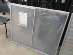 Vitro de Correr. 2 folhas Aluminio sem pintura