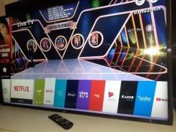 """Smart TV Led 43"""" LG Full HD - (Estado de nova) - Entrego"""