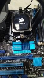 Kit Placa Mãe / Processador / Water Cooler / Memória RAM 16 GB