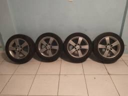 """Rodas 16"""" Originais do Civic c/ pneus"""