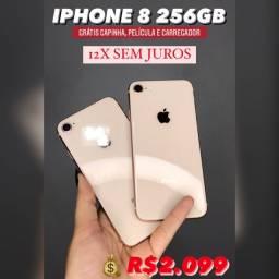 IPHONE 8 256GB 12X SEM JUROS