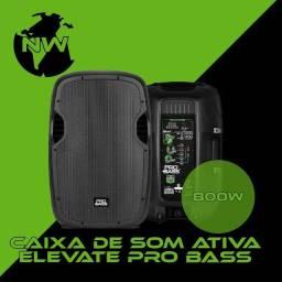 Caixa amplificada Novik Pro Bass 800w