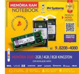 Memorias para Notebooks ,Diversas Marcas e Frequências. Novas a pronta Entrega!