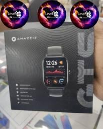 Amazfit GTS da Xiaomi! GPS; Tela Amoled; Notificações; 15 de bateria; LACRADO