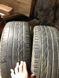 Par de Pneu 205/55r16 Bridgestone Turanza er300 ACEITO CARTÃO